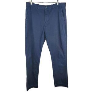 J. Crew 34x32 Flat Front Straight Leg Pants Chinos